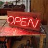 Custom OPEN sign