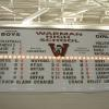 8'x12' roster board